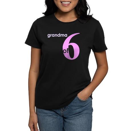 Grandma Nana Grandmother Shir Women's Dark T-Shirt