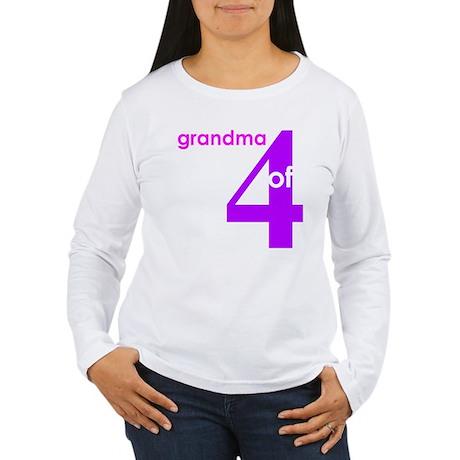 Grandma Nana Grandmother Shir Women's Long Sleeve