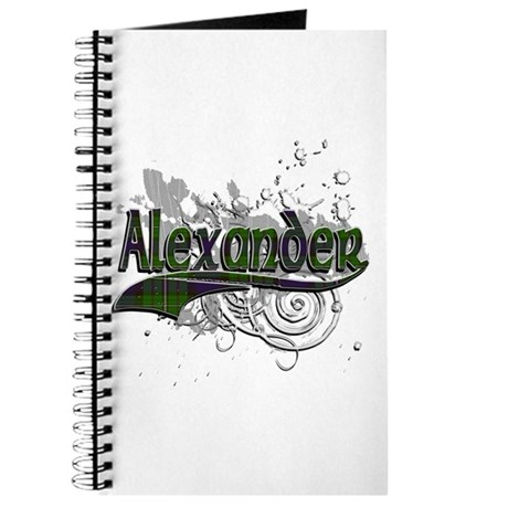 Alexander Tartan Grunge Journal