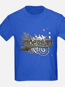 Anderson Tartan Grunge T