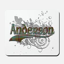 Anderson Tartan Grunge Mousepad