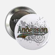 """Anderson Tartan Grunge 2.25"""" Button"""
