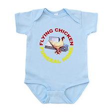 Flying Chicken Funeral Home Infant Bodysuit