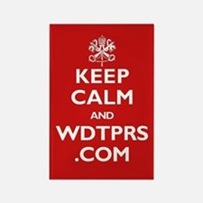 KEEP CALM WDTPRS.COM Rectangle Magnet