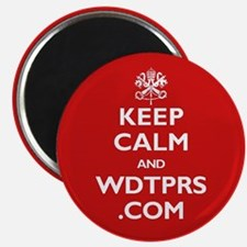 Cute Keep calm and wdtprs.com Magnet