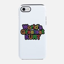 World's Greatest Kurt iPhone 7 Tough Case