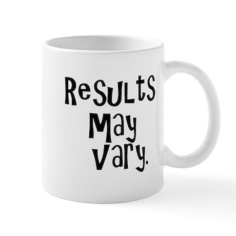 Results may vary. Mug