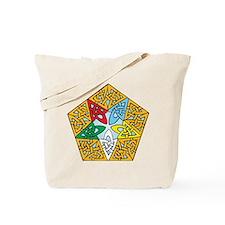 Eastern Star Celtic Knot Tote Bag