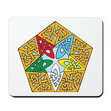 Eastern Star Celtic Knot Mousepad