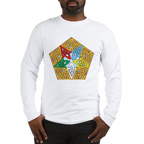 Eastern Star Celtic Knot Long Sleeve T-Shirt
