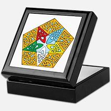 Eastern Star Celtic Knot Keepsake Box