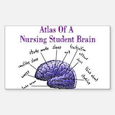 Nursing Student X Sticker (Rectangle 10 pk)