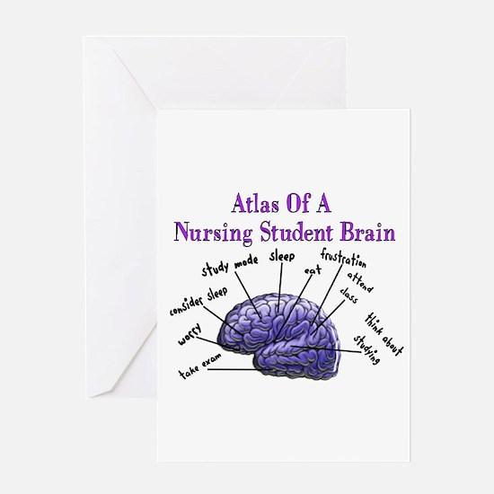 Nursing Student X Greeting Card