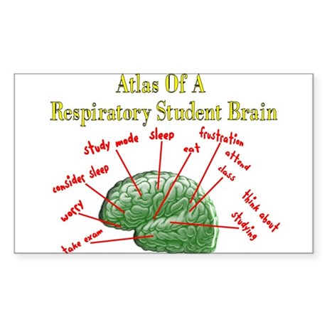 Respiratory Therapy 6 Sticker (Rectangle)