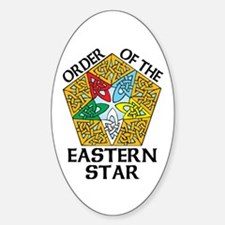 Eastern Star Celtic Knot Decal