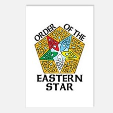 Eastern Star Celtic Knot Postcards (Package of 8)