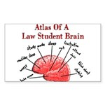 Law Student Sticker (Rectangle 10 pk)