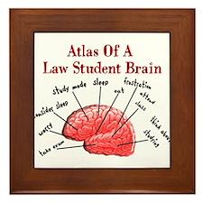 Law Student Framed Tile