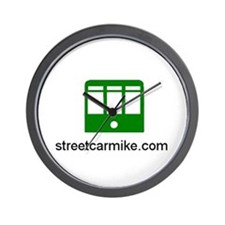 streetcarmike.com Wall Clock