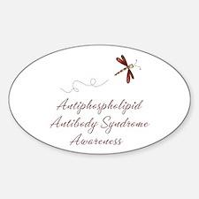 APS Awareness Sticker (Oval)