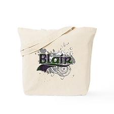 Blair Tartan Grunge Tote Bag
