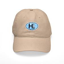 Hatteras Island NC - Oval Design Baseball Cap