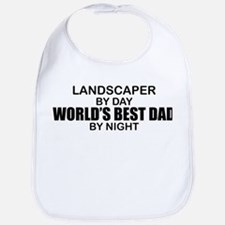 World's Best Dad - Landscaper Bib