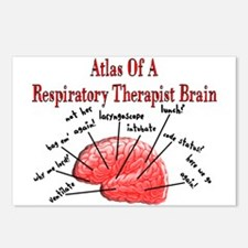 Respiratory Therapy 6 Postcards (Package of 8)