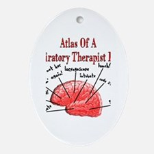 Respiratory Therapy 6 Ornament (Oval)