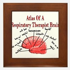 Respiratory Therapy 6 Framed Tile
