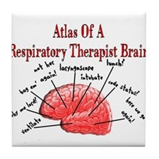 Respiratory Therapy 6 Tile Coaster