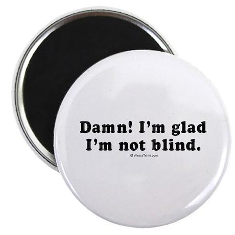 Damn! I'm glad I'm not blind - Magnet