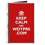 KEEP CALM WDTPRS.COM Journal