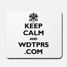 KEEP CALM WDTPRS.COM Mousepad