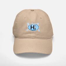 Hatteras Island NC - Oval Design Baseball Baseball Cap