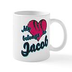 Heart Belongs To Jacob Mug