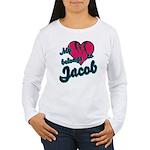 Heart Belongs To Jacob Women's Long Sleeve T-Shirt