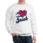 Heart Belongs To Jacob Sweatshirt