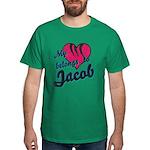 Heart Belongs To Jacob Dark T-Shirt