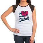 Heart Belongs To Jacob Women's Cap Sleeve T-Shirt