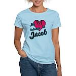 Heart Belongs To Jacob Women's Light T-Shirt