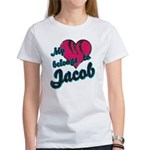 Heart Belongs To Jacob Women's T-Shirt