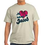 Heart Belongs To Jacob Light T-Shirt