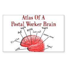 Postal Worker III Decal