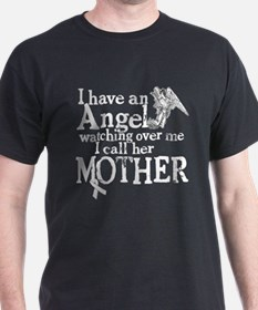 Mesothelioma Mother Angel T-Shirt