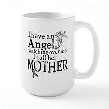 Brain Cancer Mother Angel Mug
