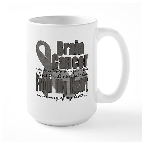 Brother Brain Cancer Large Mug