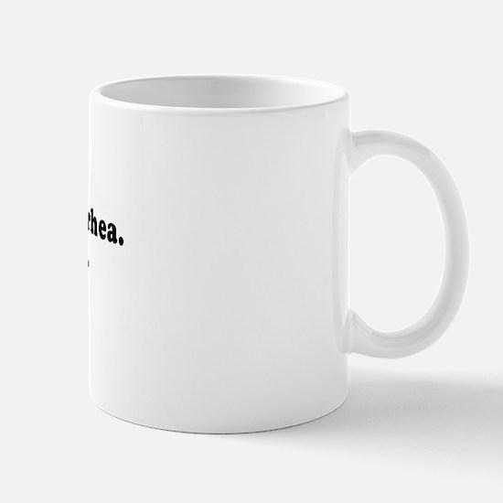 My love is like diarrhea -  Mug