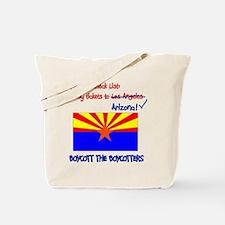 Arizona-Boycott the Boycotter Tote Bag