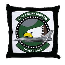 Unique 555th Throw Pillow